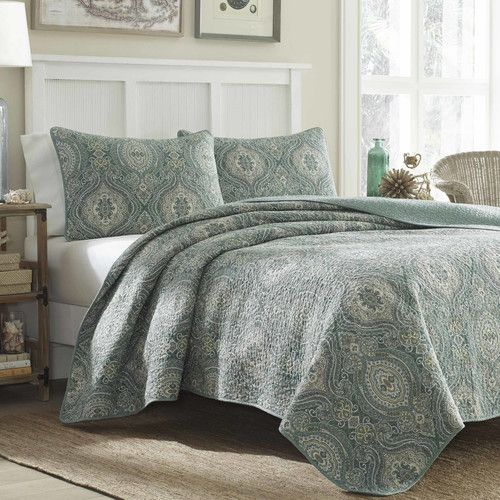 Found it at Joss & Main - 3-Piece Turtle Cove Reversible Cotton Quilt Set by Tommy Bahama