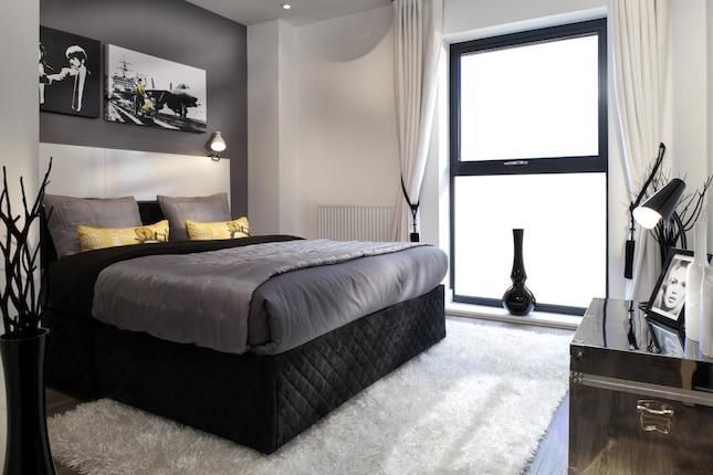 FEATURE WALL / BEDROOM IDEA: A Typical Taylor Wimpey Showhouse Bedroom