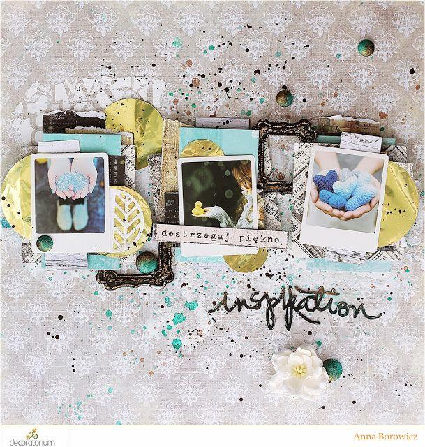 decoratorium: Inspiracja Ani - Inspirujący layout