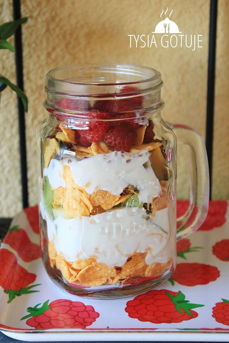 Śniadanie w słoiku | Tysia Gotuje