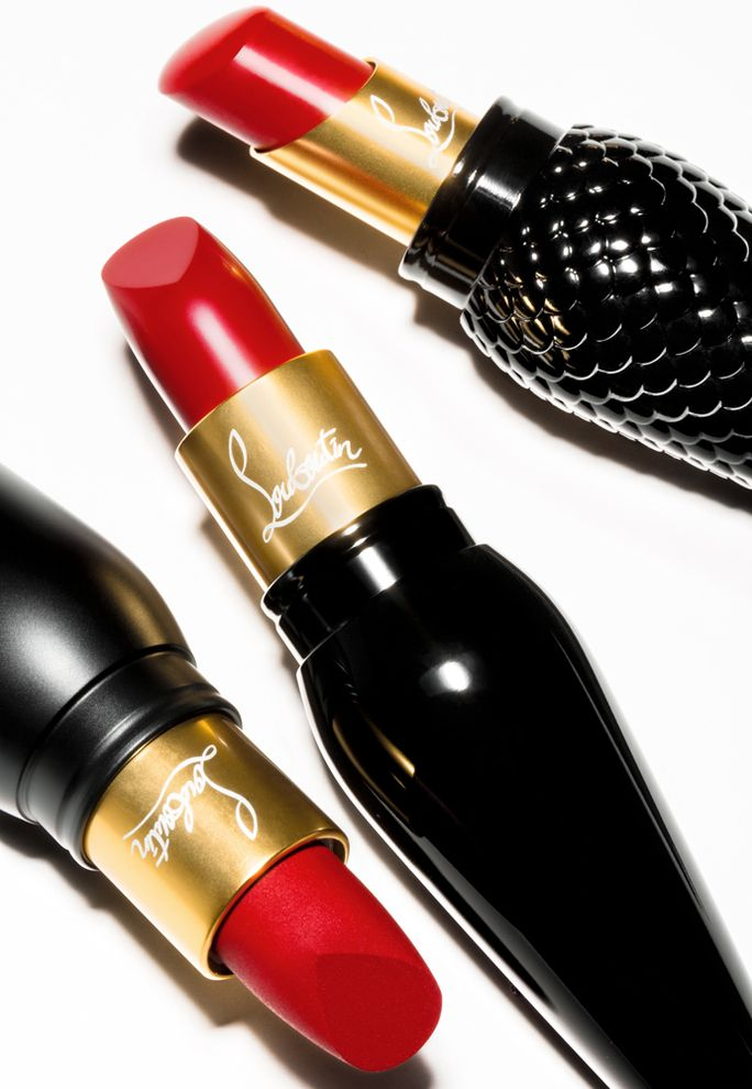 Calling all Christian Louboutin lovers—the shoe designer has just launched a line of too-pretty lipsticks. Get all the details.: