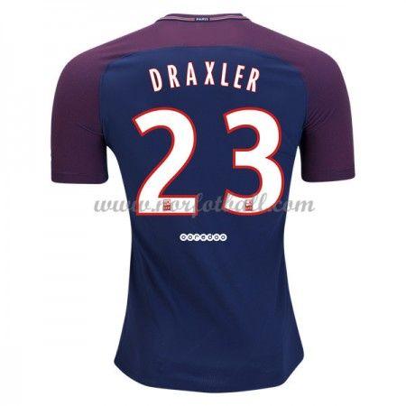 Billige Fotballdrakter Paris Saint Germain Psg 2017-18 Julian Draxler 23 Hjemmedrakt Kortermet