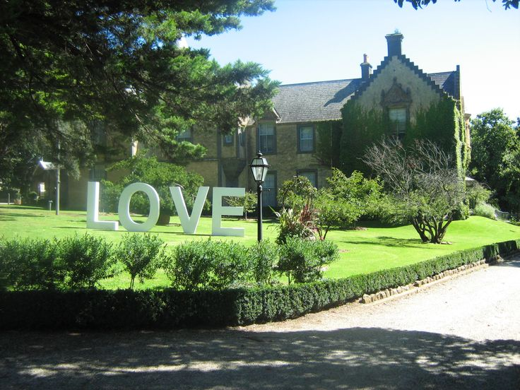 Every weekend here at the castle the air is filled with LOVE