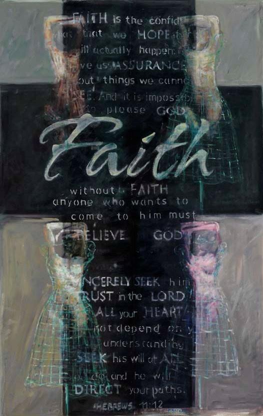 FAITH, 140X 90cm