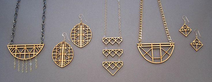 Joyo - laser cut jewelry