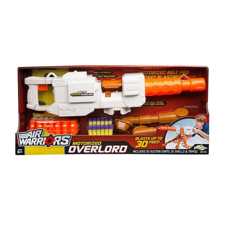 Air Warriors Overlord Blaster by Buzz Bee, Multicolor