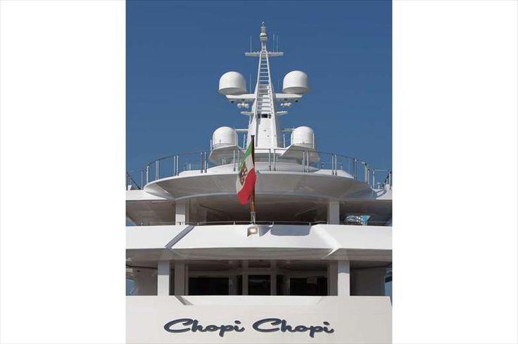 #Megayacht #ChopiChopi; the flagship of the #CRN_shipyard.