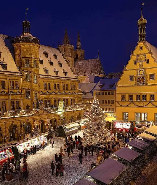 Rothenburg ob der Tauber, la ciudad de Alemania en la que siempre es Navidad…