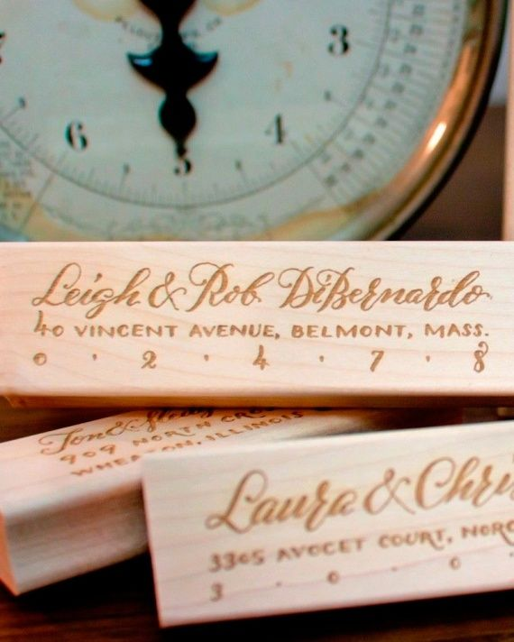 99 Top DIY Resources: For Rubber Stamps go to Plurabelle.com where you'll find calligraphed stamps