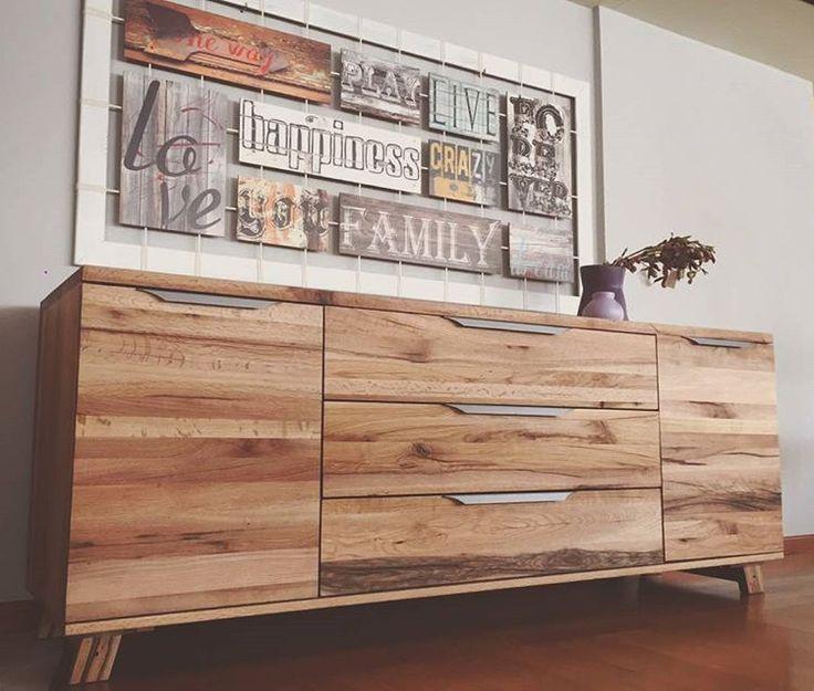 Castle #sideboard & #handmade art.  #solid_wood #solidwood #woodwork #furniture #painting #art #design #interiors #interior123 #buffet #furnituredecor #instadesign #instadecor #rustic #vintage #decor #decoration #industrial #deco #επιπλα #έπιπλα #μπουφες #έπιπλα_σαλονιου #πινακας #διακοσμηση #inspire #athens #greece
