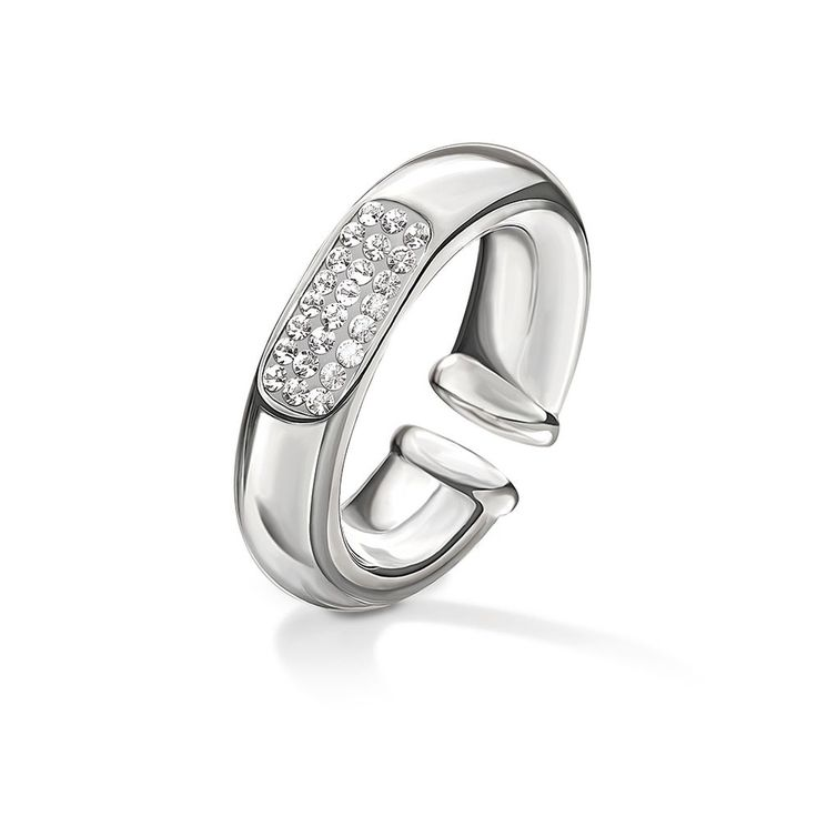 50€ Awe Silver Plated Stone Ring