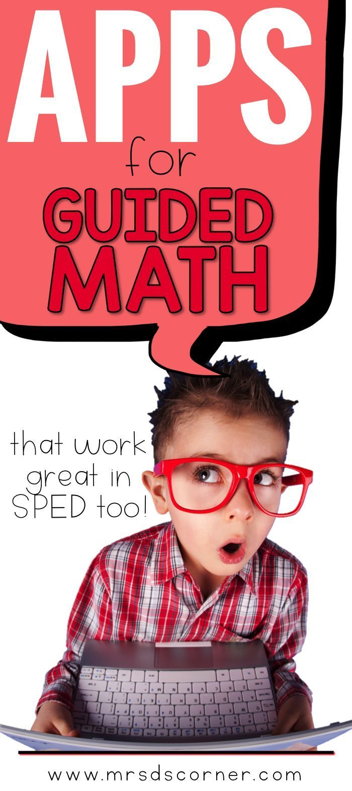When it comes to Guided Math and creating engaging, fun centers… our iPad station is a fan favorite. And these apps are great for any special education classroom setting. Use these apps for Guided Math centers because kids love technology! Blog post at Mr