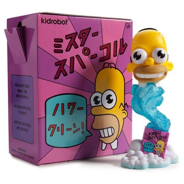 """The Simpsons Mr. Sparkle 7"""" Medium Figure - Kidrobot - 2"""
