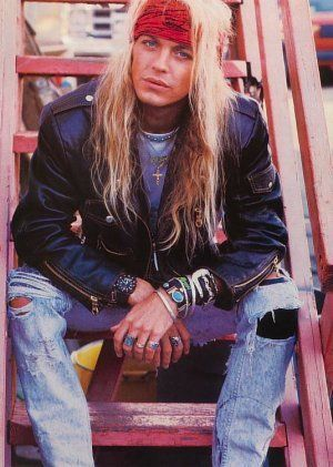Bret Michaels of Poison.. This has always been one of my favorite shots of him