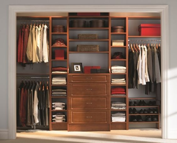 Fabulous DIY Wardrobe Organizers Ideas | Closet bedroom ...