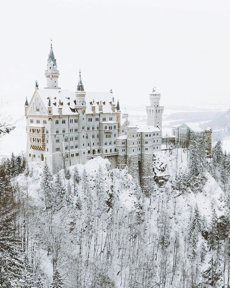Fairytale @nature enviroment  ~ Neuschweinstein Castle, Germany.  Photo by @asyrafacha