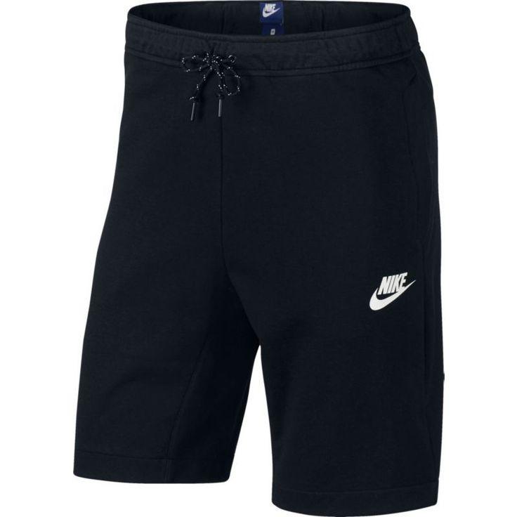 Nike Men's Sportswear Advance 15 Fleece Shorts, Size: Medium, Black