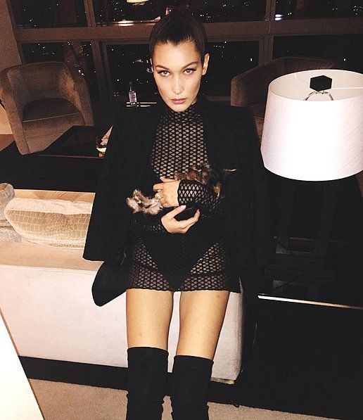 Bella Hadid Wore the Sexiest LBD to Celebrate Her Birthday