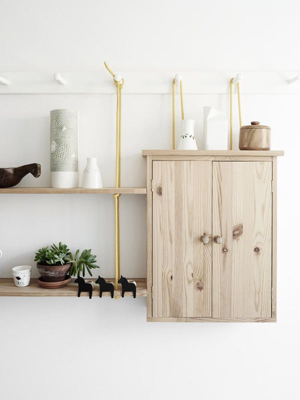 Shelves on strings