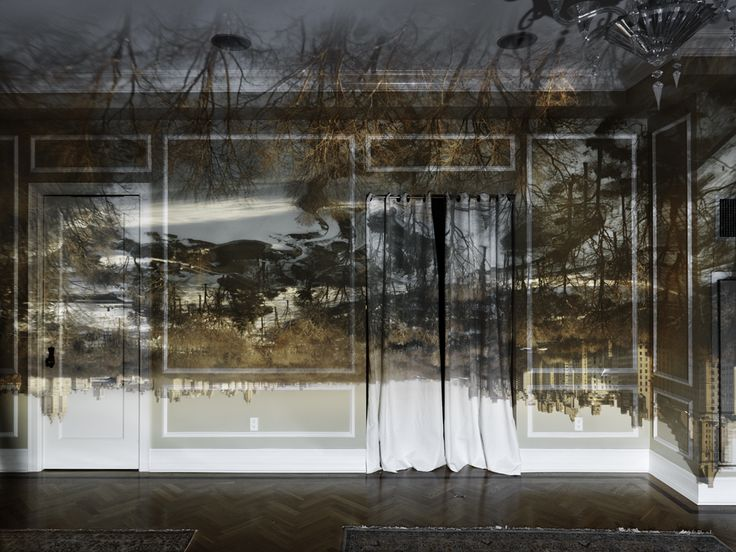 Camera Obscura: View Of Central Park Looking North-Winter, 2013 - Abelardo Morell