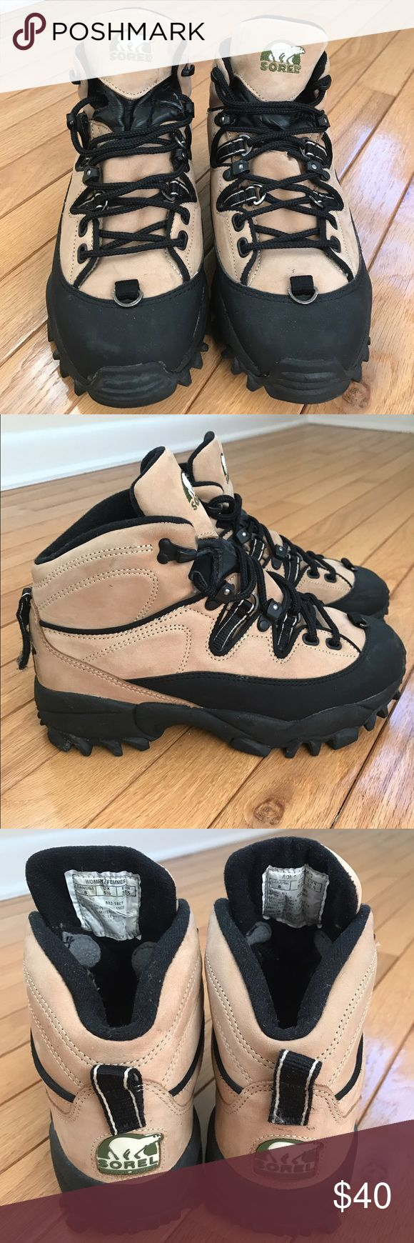 Sorel Winter Boots Worn a handful of times, great condition ! Perfect for hiking especially in fall or winter Sorel Shoes Winter & Rain Boots