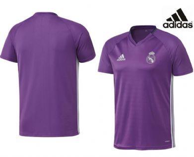 Camiseta infantil morada entrenamiento Real Madrid
