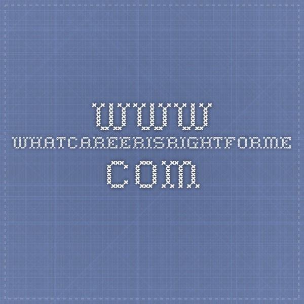 www.whatcareerisrightforme.com