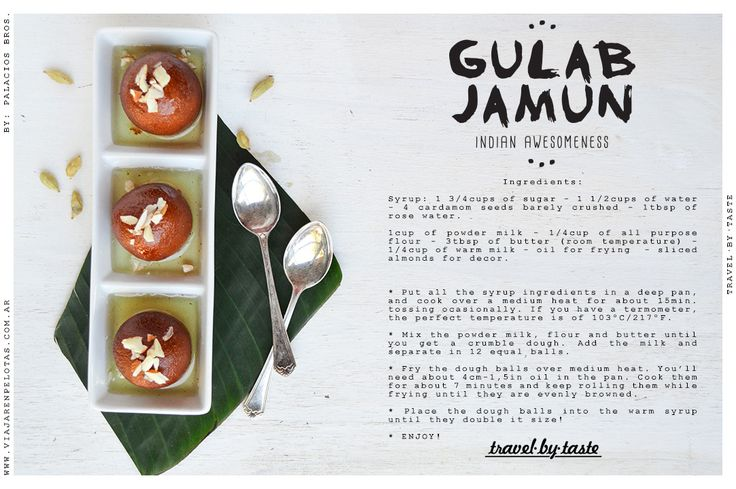 Gulab Jamun Recipe.. a tradicional Indian dessert.. simply delicious!