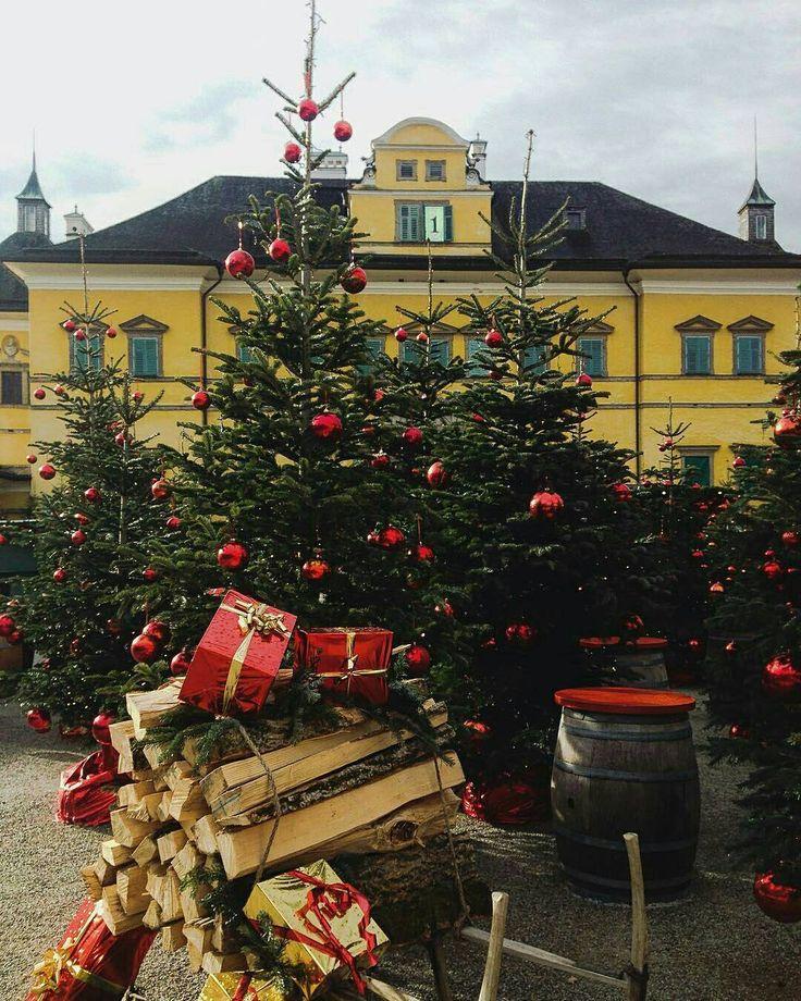 Christmas Market at Hellbrunn - Salzburg, Austria