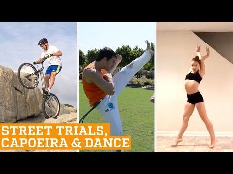TOP FIVE: Street Trials, Capoeira, Dance & Ice Cross | PEOPLE ARE AWESOME 2016 - YouTube
