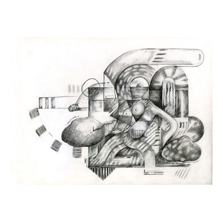Penny Rimbaud Renaissance Drawing #10