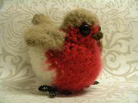 Robin Amigurumi http://littlegreen.typepad.com/romansock/instant-crochetification.html