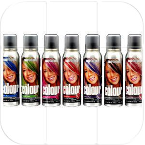 This stuff can actually make someone with black hair a blonde! Great for comic-con and other cosplay events. Smart Beauty Smart Colour Temporary Spray