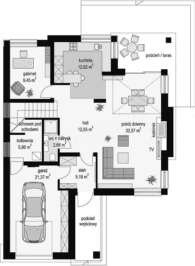 Two Storey Home in Contemporary Style 8