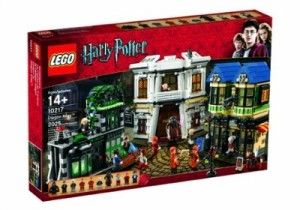 Big Lego Sets such as Harry Potter Diagon Alley - Fun Educational Gifts for Teens and Tweens