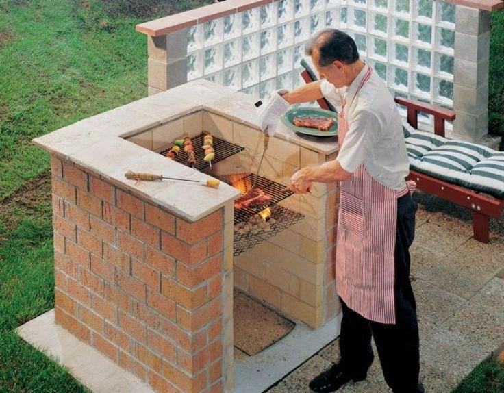 die besten 25 gemauerter grill ideen auf pinterest gartenspots spitze fenster und einfache. Black Bedroom Furniture Sets. Home Design Ideas
