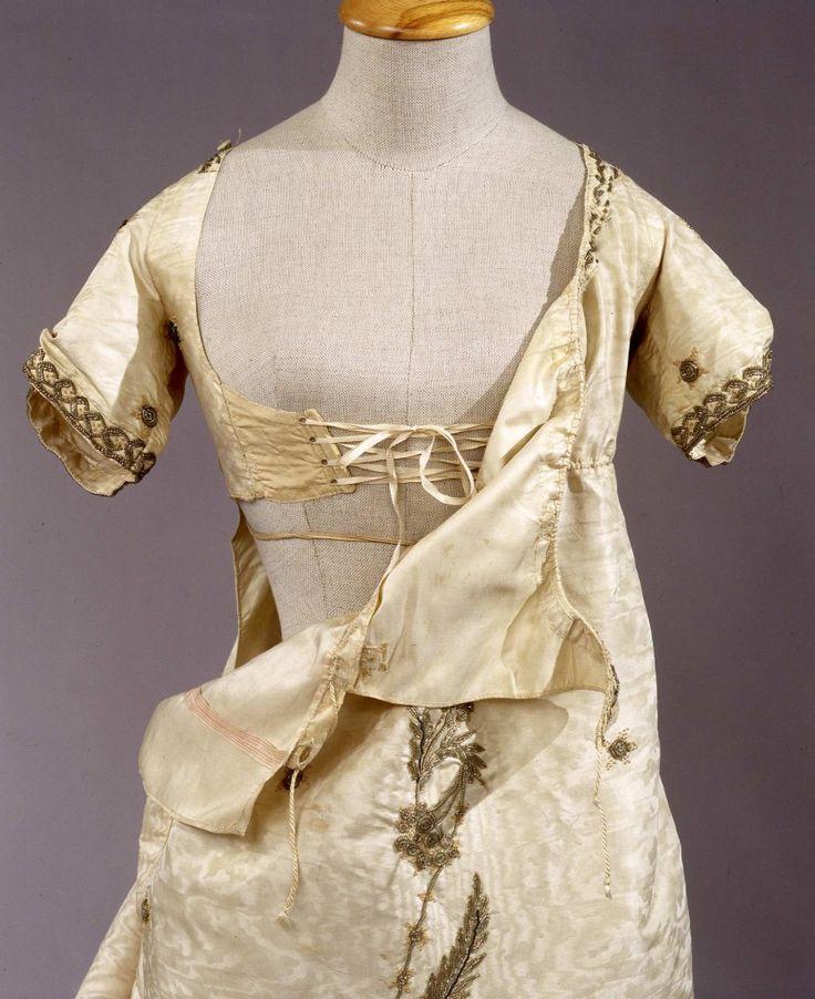 Abito femminile di gala early 19th c.