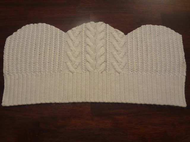 Recycle a sweater to make a beanie (something to do with the old sweaters I have stashed away...)