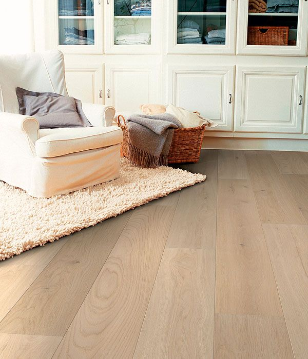 Prachtige vloer van Quick-Step met brede planken -  laminaat #laminaatvloer #interieur