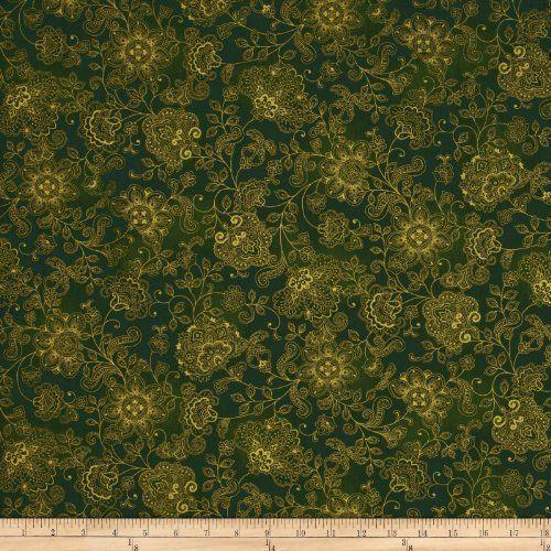 Pashmina Jacobean Floral Green Fabric By The YD by Timeless Treasures, http://www.amazon.com/dp/B00CF4KEJQ/ref=cm_sw_r_pi_dp_s8Uysb0Y4MZ1P