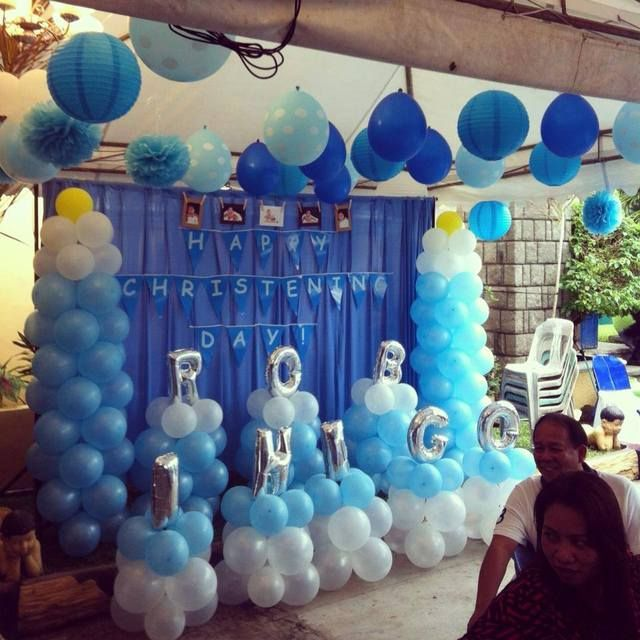1000 ideas about baptism party decorations on pinterest for Baby christening decoration ideas