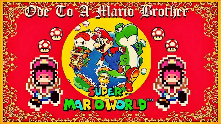 Posh English Bloke Reads Poems About Games: Super Mario World