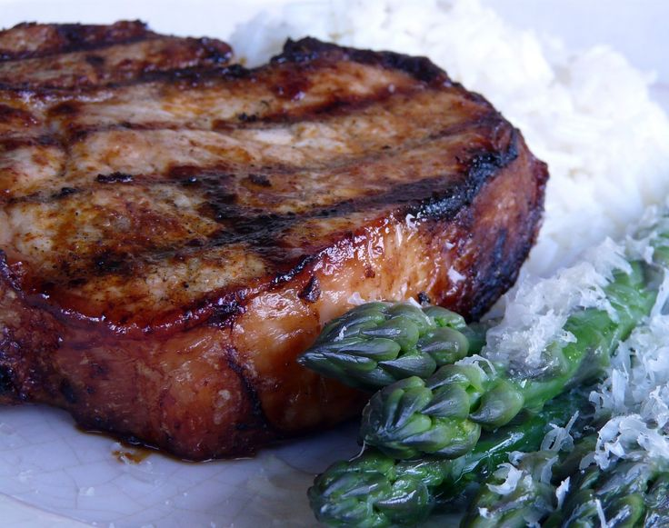 Seasoned Grilled or Broiled Pork Chops