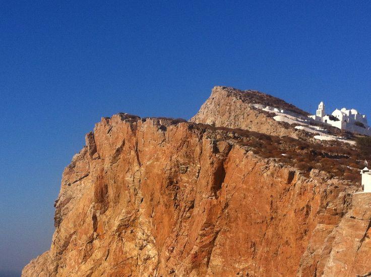 Chora Folegandros Cyclades Greece