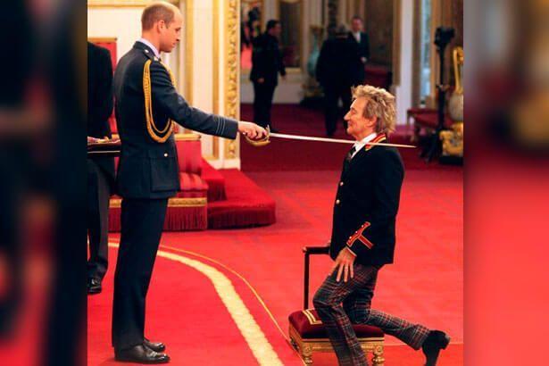 Imagem: Rod Stewart é nomeado Cavaleiro do Império Britânico