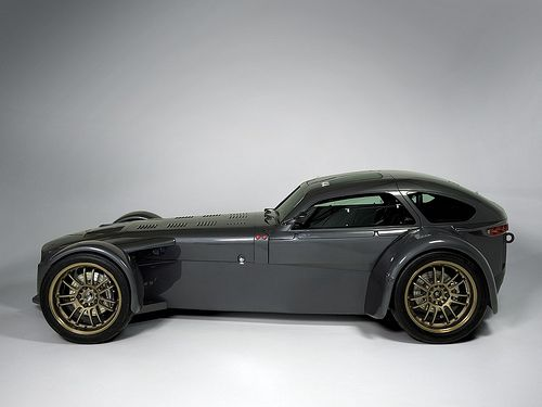 Donkervoort D8-GT4 - I have no idea what this is or if it's even real, but I'd like to drive it that's for sure.  Reminds me of a Lotus Seven and I'm really liking the hard top/ coupe look.