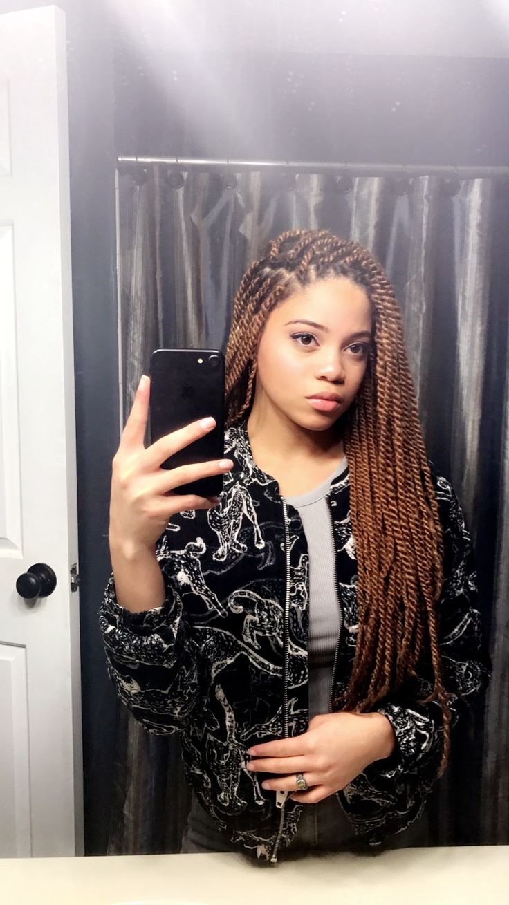 Blonde Marley Twist Protective style