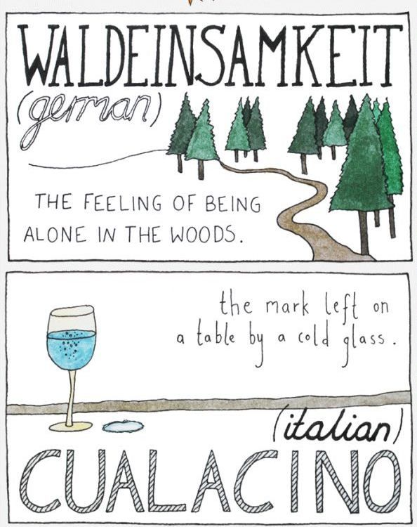 11 Untranslatable Words From Other Cultures  created by Maptia