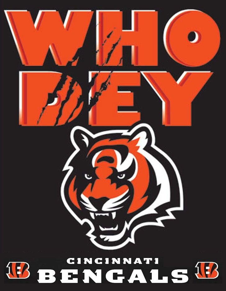 Sports-Football-Cincinnati Bengals-Logo-Who Dey