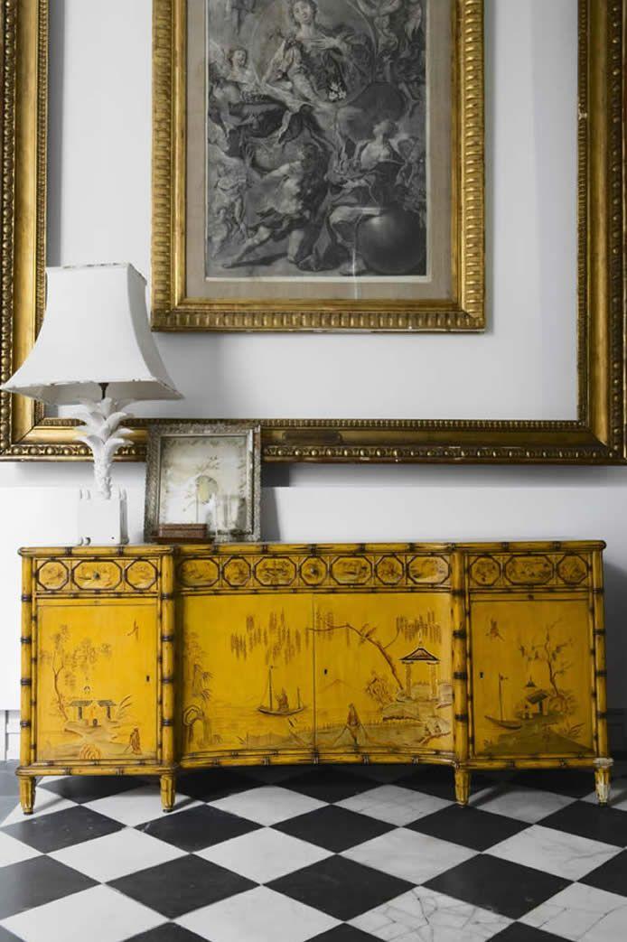 An elegant interior in Madrid, designed by Spanish interior designer Lorenzo Castillo. via the designer's site